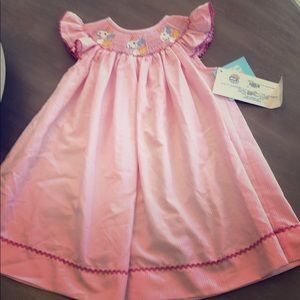 Other - Silly goose smocked dress